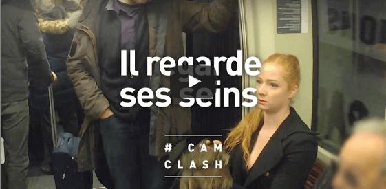 Cam Clash : «C'est pas interdit de regarder les femmes, surtout quand elles sont habillées comme vous.»