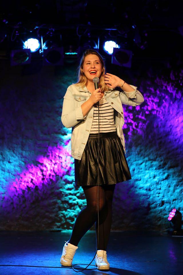 Tania Dutel sur scène