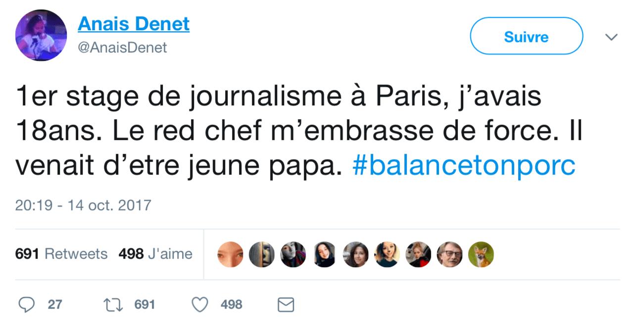 """""""Balance ton porc"""": sur Twitter, des femmes racontent le harcèlement sexuel"""