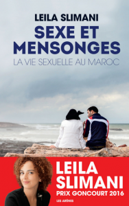 """Couverture du livre """"Sexe et mensonges"""" de Leila Slimani © Les Arènes"""