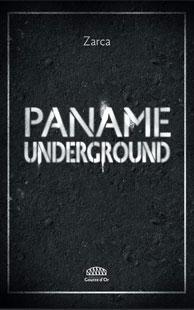 """Couverture du livre """"Paname Underground"""" de Zarca aux éditions Goutte d'Or"""