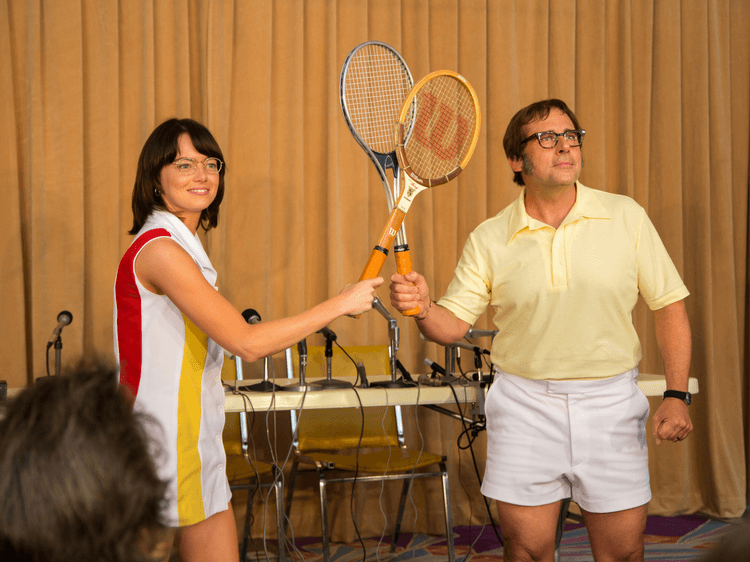 "Au ciné, ""Battle of the sexes"" : jeu, set et match contre le machisme"
