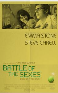 Affiche de Battle of Sexe