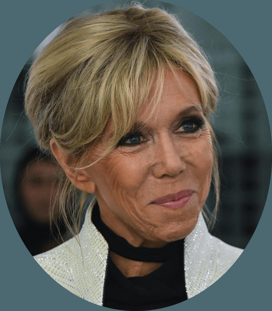 Portrait de la Première Dame Brigitte Macron