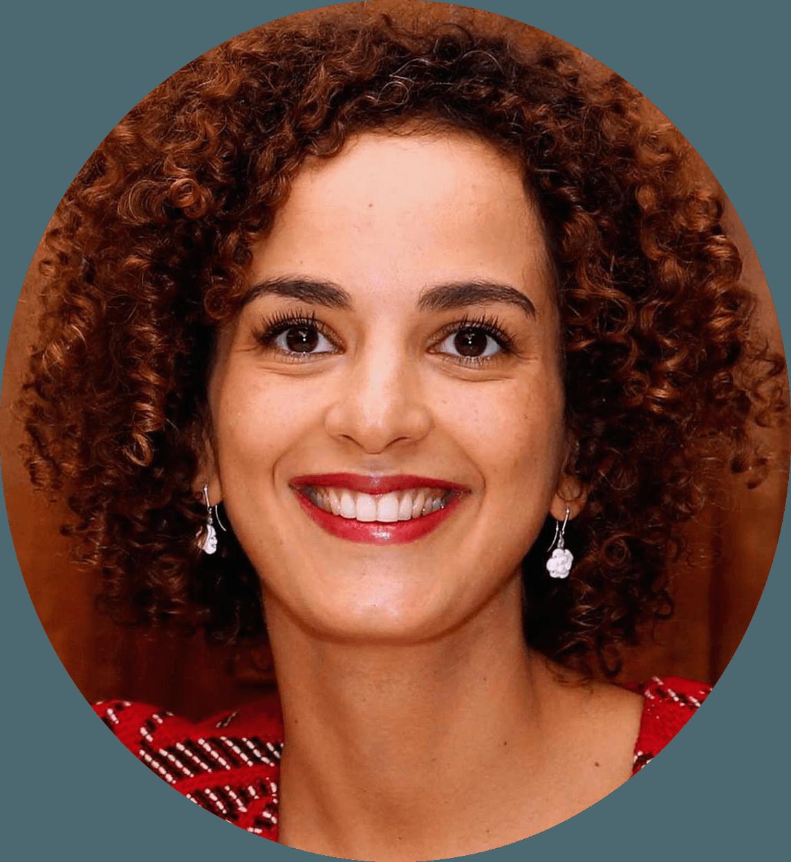 Portrait de l'écrivaine Leïla Slimani