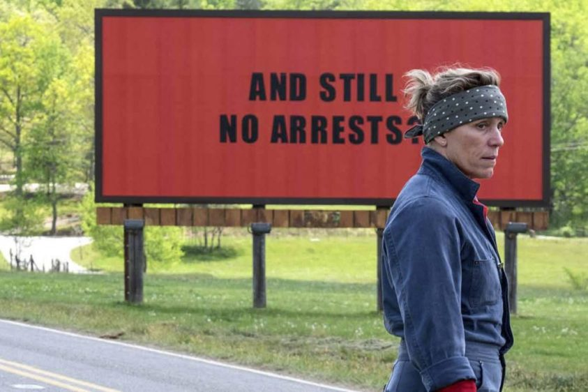 """Three Billboards"" : le combat d'une cow-girl contre la justice"