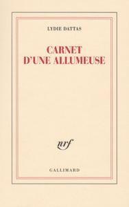 """Couverture """"Carnet d'une allumeuse"""" de Lydie Dattas"""