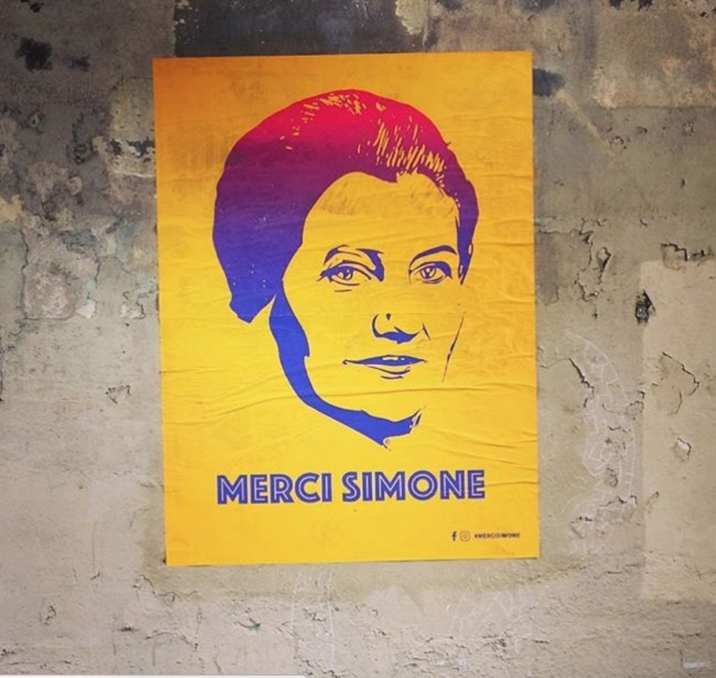 Affiche de Merci Simone