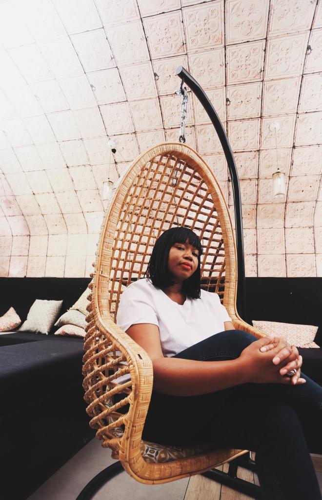 Portrait de la créatrice de mode Aïssé N'Diaye