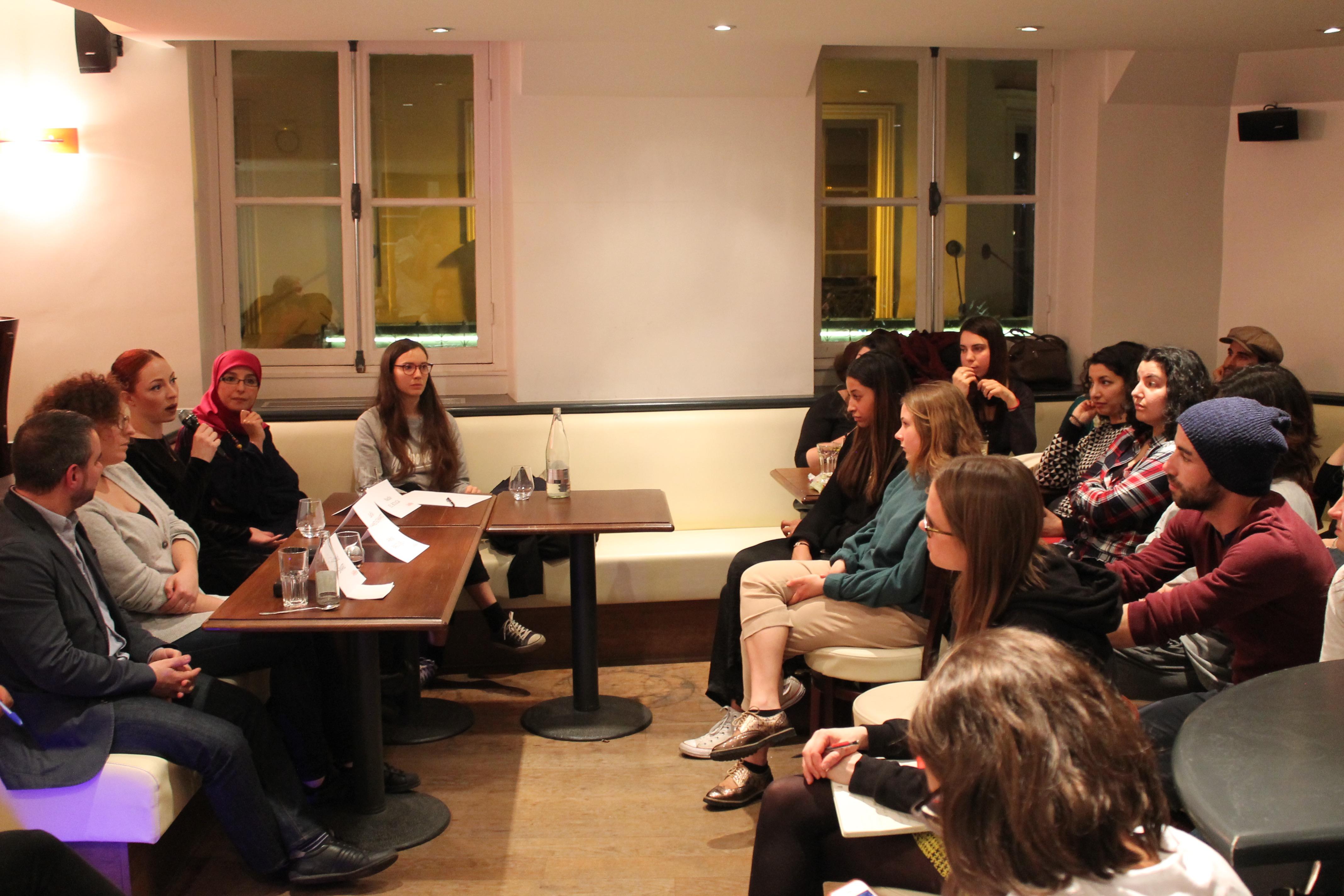 Table ronde des Intelloes sur le plaisir féminin le 8 mars dernier
