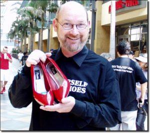 Franck Baird, créateur de Walk A Mile In Her Shoes