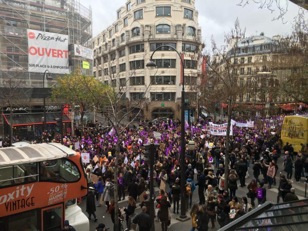 Manifestation contre les violences faites aux femmes du 24 novembre 2018