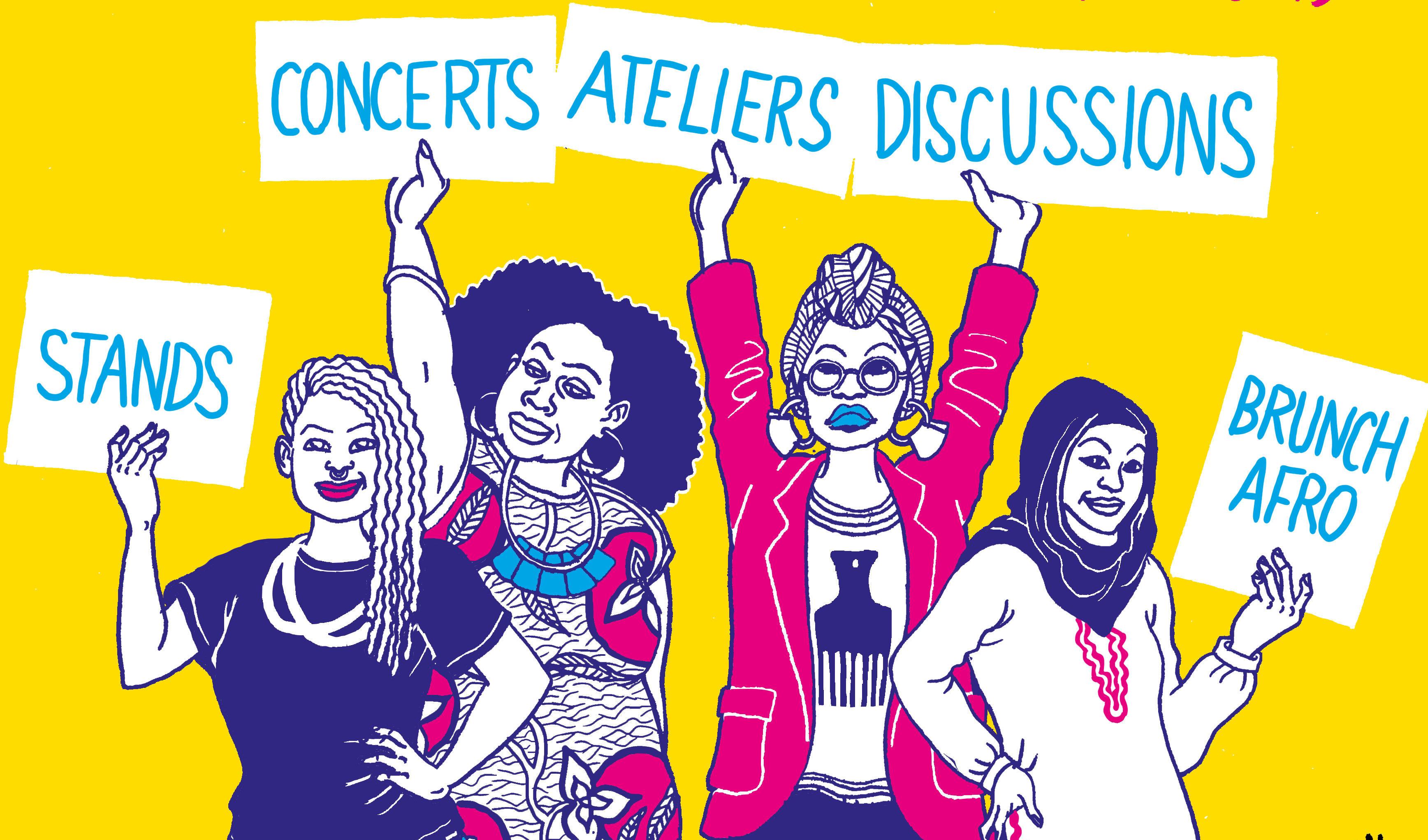 Le «Fraîches Women Festival» célèbre la bienveillance et la sororité
