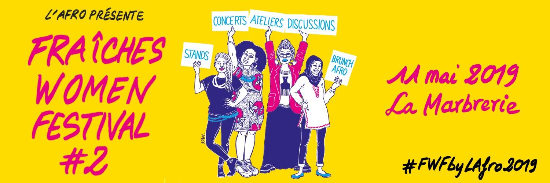 Bannière du Fraîches women festival